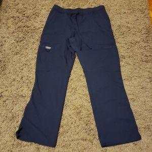 [Cherokee] navy blue scrub pants